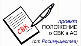 СВК от Росимущества